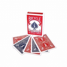 Bicycle Red/Blue Double Back Deck