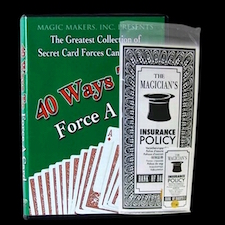 Ultimate Magician's Insurance Policy - Professional Version With DVD