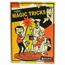 Easy Magic Tricks Book - Over 50 Tricks