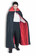 Cape, Red & Black Reversible 60""